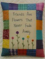 Friends Are Flowers Pillow Pattern JMI-148