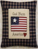 God Bless America Pillow Pattern JMI-202