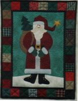Jingle Bells Santa Quilt Pattern JMI-206