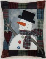 A Snowman's Gift Pillow Pattern JMI-213