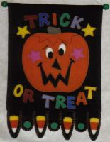 Trick or Treat Banner Pattern JMI-302
