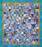 Batik Waves Quilt Pattern KCS-BW