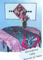 Springtime Table Runner & Topper Pattern KQD-110