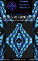Deep Dimension Cubes Quilt Pattern KWA-1070e