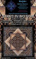 Stars in Motion Quilt Pattern KWA-3333e