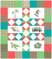 Tropical Paradise Quilt Pattern LKD-101