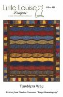 Tumblers Way Quilt Pattern LLD-021e