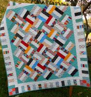 Pickup Sticks Quilt Pattern LLD-044
