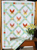 Petit Papillon Quilt and Table Runner Pattern LLD-047e