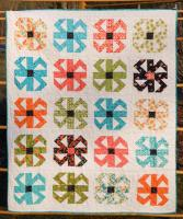 Spin Blossoms Quilt Pattern LLD-051