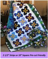 Pansy Party Quilt Pattern LLD-056