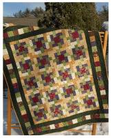 The Woodsmen's Puzzle Quilt Pattern LLD-078