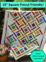 Double Strip Trip Quilt Pattern LLD-079