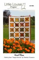 Harvest Blooms Quilt Pattern LLD-081e
