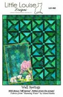 Well Springs Quilt Pattern LLD-082e
