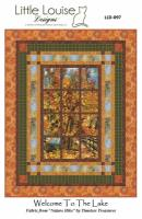 Welcome to the Lake Quilt Pattern LLD-097e