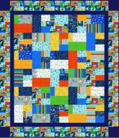 Space Station Quilt Pattern LLD-099e