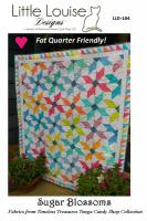 Sugar Blossoms Quilt Pattern LLD-104