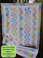 Tumbles & Twirls Baby Quilt Pattern LLD-109