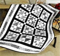 Black Tie Affair Quilt Pattern LLD-124