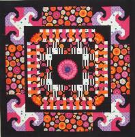 Center Blossom Quilt Pattern LOB-109