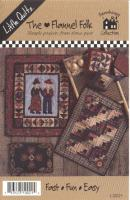 Flannel Folk Quilt Pattern LQC-21