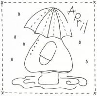 Sunbonnet Sue BOM - April Stitchery Pattern LQC-S4
