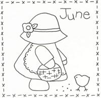 Sunbonnet Sue BOM - June Stitchery Pattern LQC-S6