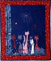 Patriotic Cats Quilt Pattern LSC-0902