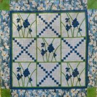 Blue Dogwood Quilt Pattern MCL-6