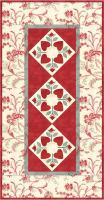 Hearts and Flowers Table Runner Pattern MCL-8