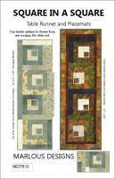 Square in a Square Table Runner & Placemat Pattern MD-TR13