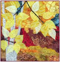 Fall Impressions 3 Birches Quilt Pattern MD-TR22