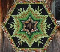 Bargello Tree Skirt Pattern ME-111