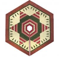 Evergreen Star Tree Skirt Quilt Pattern ME-207