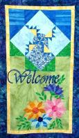 Kansas Sunflower & Windmill Welcome Banner Pattern MGD-101