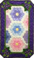 February Violets Quilt Pattern MGD-208