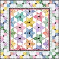 Diamond Stars Quilt Pattern MGD-223