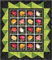Poppy Picture Window Quilt Pattern MGD-261
