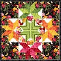 Starlight Poppies Quilt Patten MGD-262