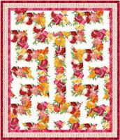 Amazing Poppies Quilt Pattern MGD-275