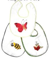 Silly Pet Bibs Pattern MMD2-112