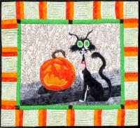 Halloween Happens Wall Hanging Pattern MMD2-J161