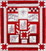 The Nativity Quilt Pattern MMD2-J175
