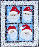 Jolly Santa's Wall Hanging Pattern MMD2-J184