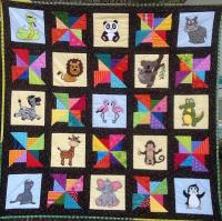 A Day at the Zoo Quilt Pattern MSP-102e