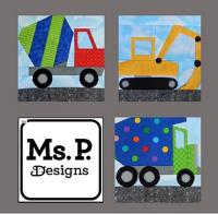Construction Equipment Block Set Pattern MSP-103e