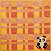 Giant Panda Baby Quilt Pattern MSP-108e