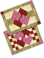February Love Placemats Pattern NDD-123