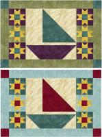 August Sailing Placemats Pattern NDD-129